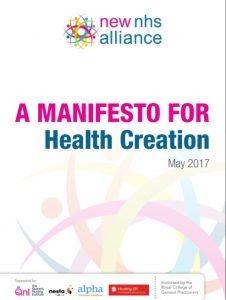 Manifesto for Health Creation